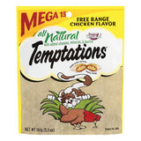WHISKAS TEMPTATIONS FREE RANGE CHICKEN FLAVOR