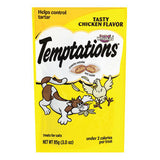 WHISKAS TEMPTATIONS TASTY CHICKEN FLAVOR