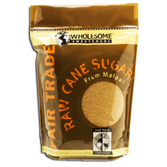 WHOLESOME SWEETENERS RAW CANE SUGAR FROM MALAWI