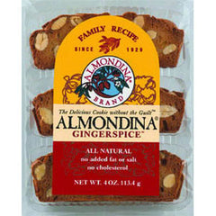 ALMONDINA GINGERSPICE BISCUITS