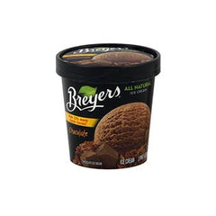 BREYER'S CHOCOLATE ICE CREAM
