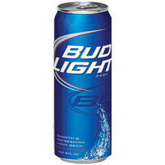 BUD LIGHT CANNED BEER - 24 OZ
