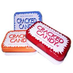 CRACKED CANDY. SUGAR FREE XYLITOL CANDY