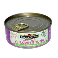 SOLID LIGHT YELLOWFIN TUNA IN XTRA VIRGIN OLIVE OIL
