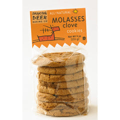 DANCING DEER   ALL NATURAL MOLASSES CLOVE COOKIES