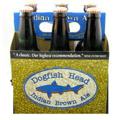 DOGFISH HEAD INDIAN BROWN ALE BEER