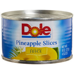DOLE SLICED PINE IN JUICE