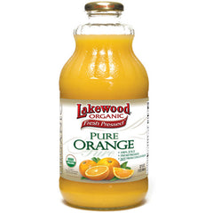 LAKEWOOD ORGANIC PURE JUICE ORANGE