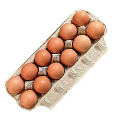 ALDERFER EGGS ORGANIC GRADE 'A' EXTRA LARGE BROWN EGGS