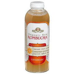 GT'S SYNERGY ORGANIC & RAW CLASSSIC CITRUS KOMBUCHA WITH ALCOHOL