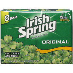 IRISH SPRING ORIGINAL SOAP BAR 8 PACK