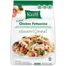 KASHI ALL NATURAL STEAM MEAL CHICKEN FETTUCCINE