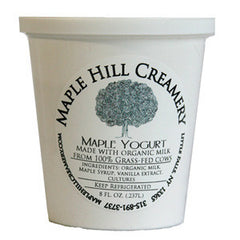 MAPLE HILL CREAMERY GRASS FED VANILLA YOGURT