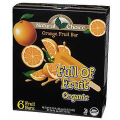 NATURAL CHOICE FULL OF FRUIT ORGANIC ORANGE FRUIT BAR