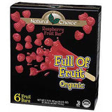 NATURAL CHOICE FULL OF FRUIT ORGANIC RASPBERRY FRUIT BARS