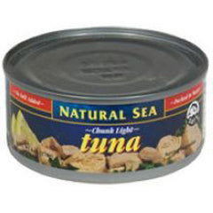 NATURAL SEA CHUNCK LIGHT TUNA IN WATER