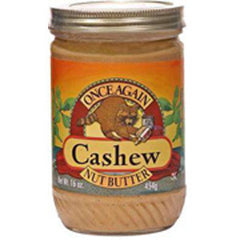 ONCE AGAIN CASHEW NUT BUTTER