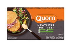 QUORN CHIK'N PATTIES MEAT SOY FREE
