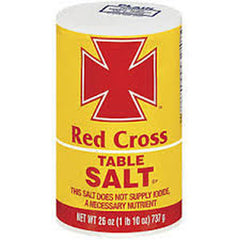 RED CROSS TABLE PLAIN SALT