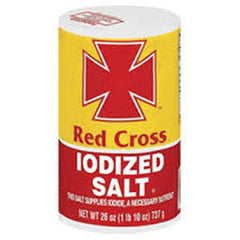 RED CROSS IODIZED SALT