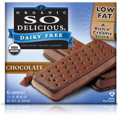 SO DELICIOUS DAIRY FREE CHOCOLATE SANDWICH