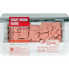 SHADY BROOK FARMS 85%  LEAN GROUND TURKEY