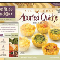 THE FILLO FACTORY ASSORTED QUICHE