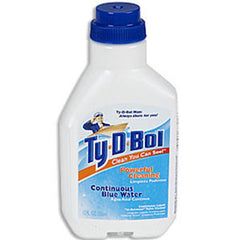 TY-D-BOL TOILET CLEANER CONTINUOUS LIQUID IN BETWEEN