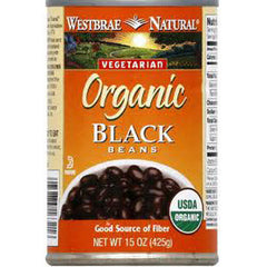 WESTBRAE VEGETARIAN ORGANIC FAT FREE BLACK BEAN