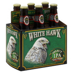 MENDOCINO BREWING COMPANY WHITE HAWK SELECT IPA BEER - 6 PACK - 12 FL OZ