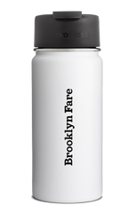 HYDROFLASK X BROOKLYN FARE COFFEE MUG WHITE
