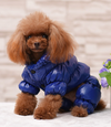 BLUE PUFFER JACKET ONSIE