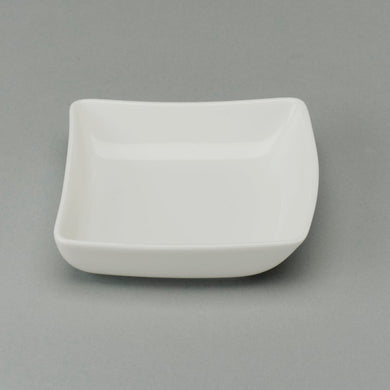 01231 Bowl Hot Wave retangular 12 x 12 cm