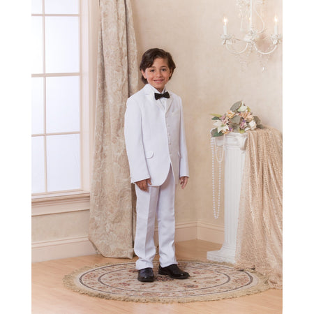 Bijan Kids White Suit