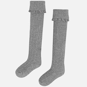 Mayoral Cable Knit Socks