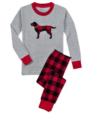 Rustic Plaid Dog Pajamas