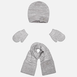 Mayoral Hat, Scarf & Mitten set