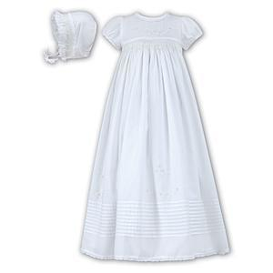 Sarah Louise Cotton Smocked Gown