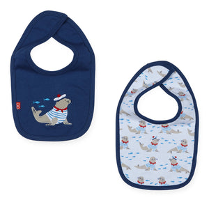 Magnificent Baby Petit Marin Magnetic Reversible Bib