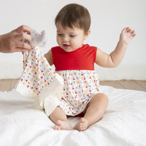 Magnificent Baby Summer Fare Dress and Bloomer