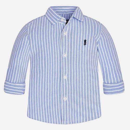 Mayoral Pique Button Up Shirt