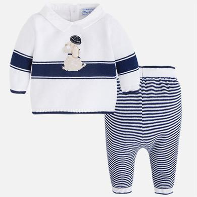 Mayoral Knit Sweater and Pant Set