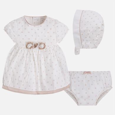 Mayoral Infant 3 piece Dress