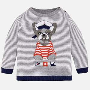 Boys Puppy Sweater