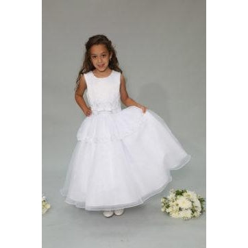 Sweetie Pie Satin and Organza Dress