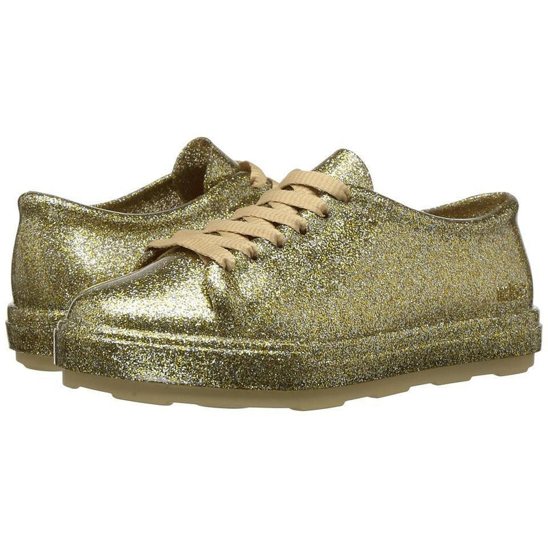Mini Melissa Mel B Gold Fushion Sneakers