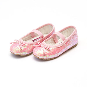 L'amour Pink Glitter shoes