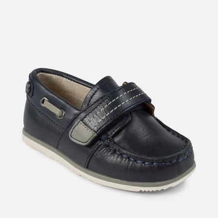 Mayoral Navy Leather Shoes in Navy