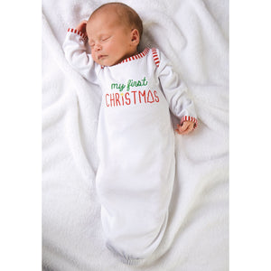 Mud Pie First Christmas Gown