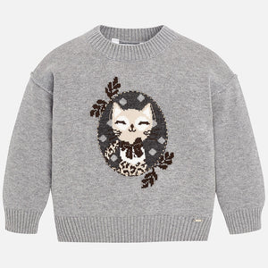 Mayoral Cat Sweater